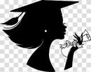 graduate silhouette clipart - HD1096×880