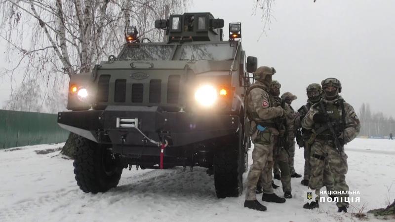 Одеські правоохоронці взяли участь у масштабних тактико спеціальних навчаннях МВС