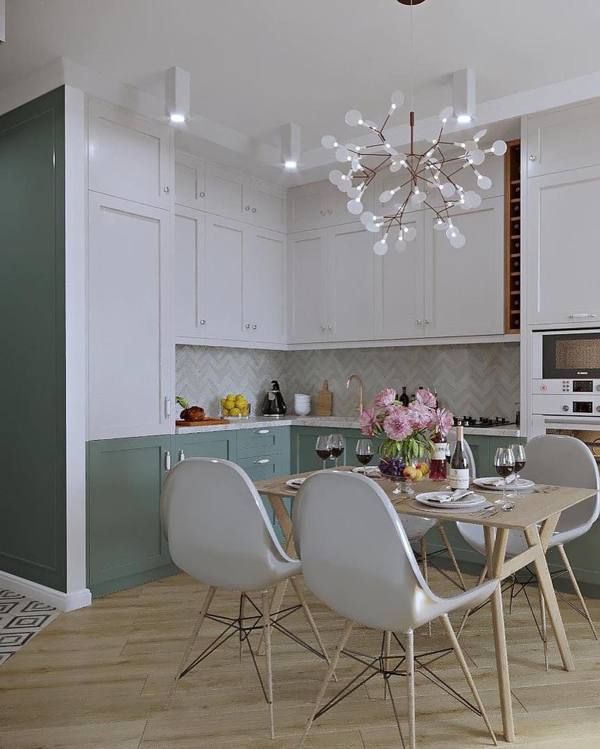 Проект и реализация дизайна квартиры.