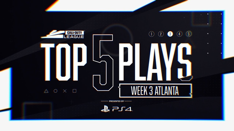 Top 5 Plays Presented by PS4 | Atlanta Home Series