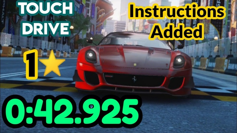 Asphalt 9 TouchDrive Ferrari 599XX EVO 1* Grand Prix R5 Rat Race 0 42 925 Instructions added