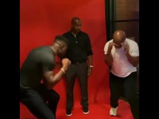 Майк Тайсон обучает азам бокса самого опасного панчера ММА Френсиса Нганну