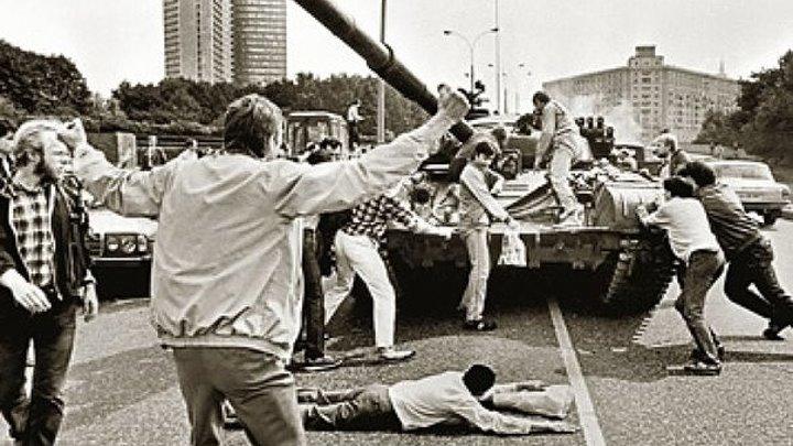 Хроника событий путч 1991г в Москве