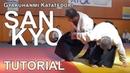 [TUTORIAL AIKIDO3] Katatedori SANKYO - Basic Body Mechanics