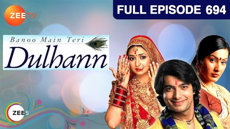 Banoo Main Teri Dulhann Hindi Serial Full Episode 694 Divyanka Sharad Malhotra Zee TV