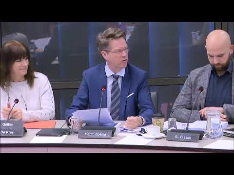 11222 Martin Bosma PVV houdt functioneringsgesprek met mediaminister Arie Slob YouTube