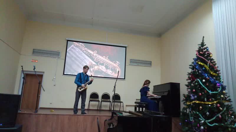 Концерт в Вытегорской школе искусств Фрагмент 7