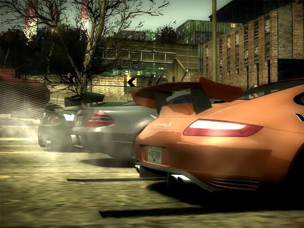 NFS Most Wanted 2005 Porsche 911 Carrera S Призовая Угол Сисайд и Кэмден Дрэг рейсинг