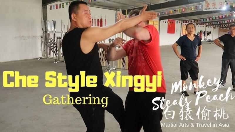 Che Style Xingyi Quan Gathering in Taigu Exploring Xingyi Quan ep4