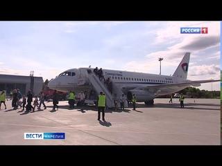 Новый аэровокзал аэропорта Петрозаводск открыли в Карелии