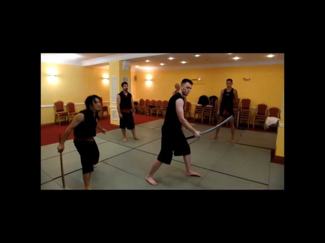 Tactical Thai Sword easy trick from me by Kru Thod ThaiAchira