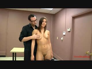 OON, CMNF, фантазия об остановке времени  двое якобы полицейских останавливают время, раздевают женщину догола и лапают её