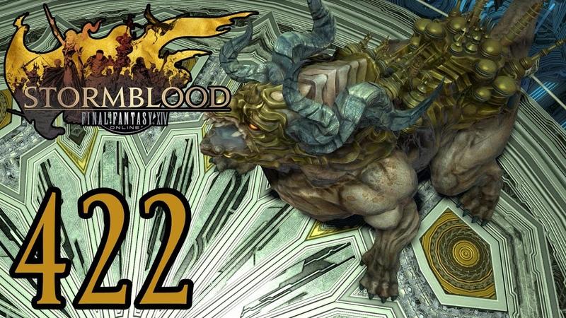 Final Fantasy 14 SB Deutsch 422 Dungeon Die Fraktal Kontinuum SCHWER St 70