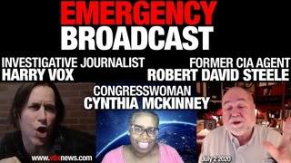 Harry Vox and Cynthia McKinney Dives Deep into the World Crisis
