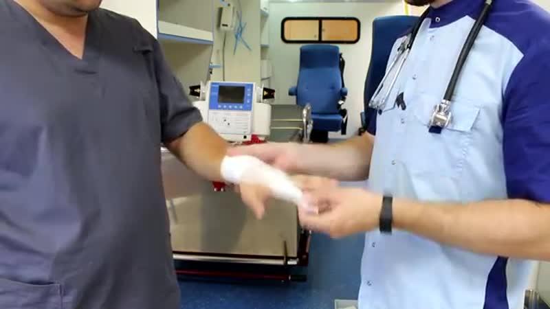 Повязка на один палец и Рыцарская перчатка