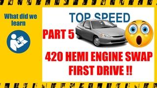 We road test the 420 cc Hemi powered street legal go kart.