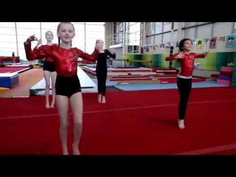 Warm Up 2018 Waka Waka Limerick Gymnastics Club Ireland