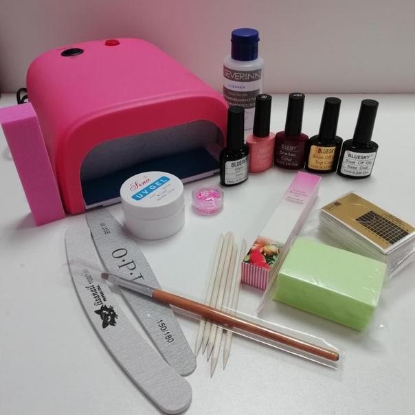 картинки что нужно для наращивания ногтей гелем список с фото работе