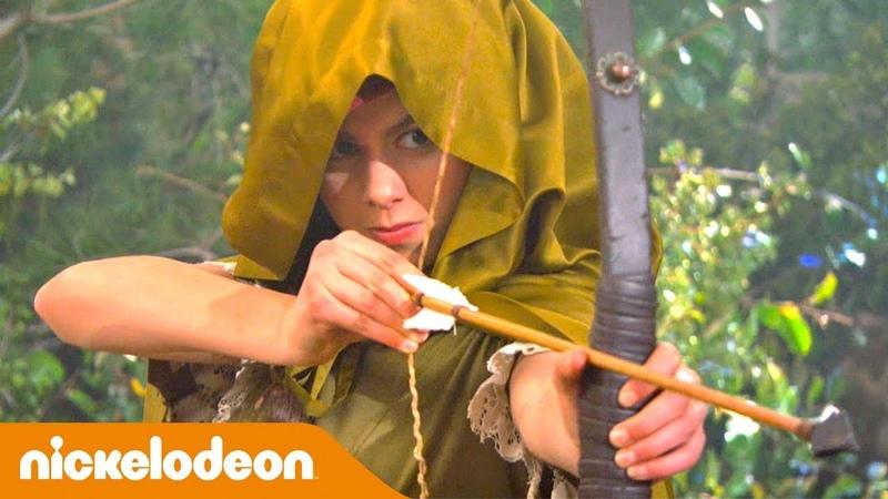 Грозная семейка Соревнования по стрельбе из лука 🏹 Nickelodeon Россия