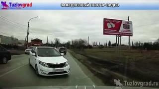 В Новочеркасске военнослужащий устроил лобовое ДТП