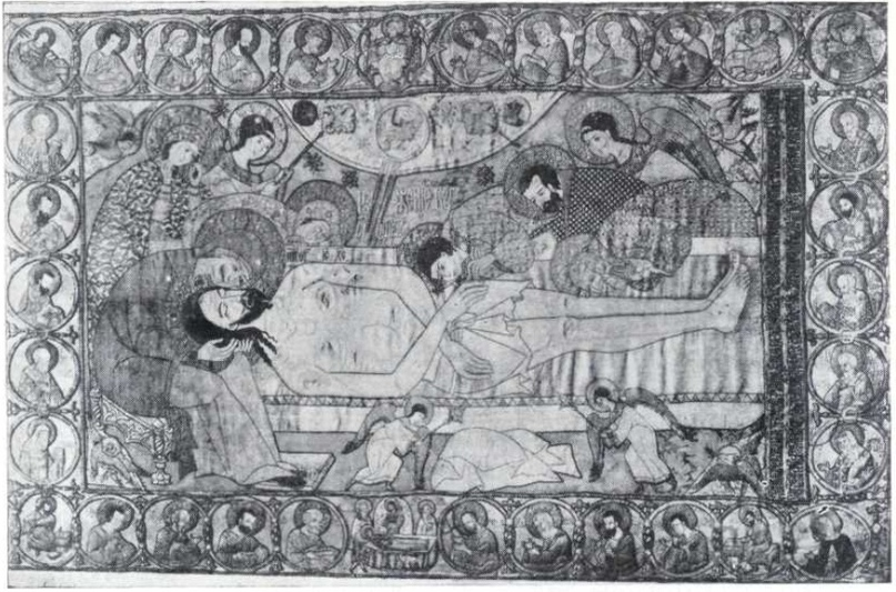 5. Плащаница. 1561. Успенский собор в Смоленске