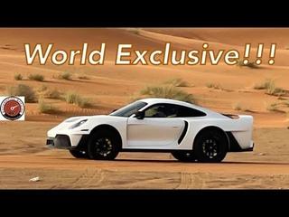 World Exclusive Footage - Project Sandbox The Porsche 992 Turbo S Based 959 Dakar Inspired Supercar