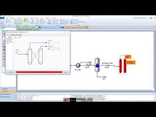 Моделирование установки доочистки отходящих газов по технологии  SCOT в AspenHysys V10