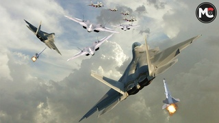 Here's What Happens if an F-22 Raptor Battled Su-57