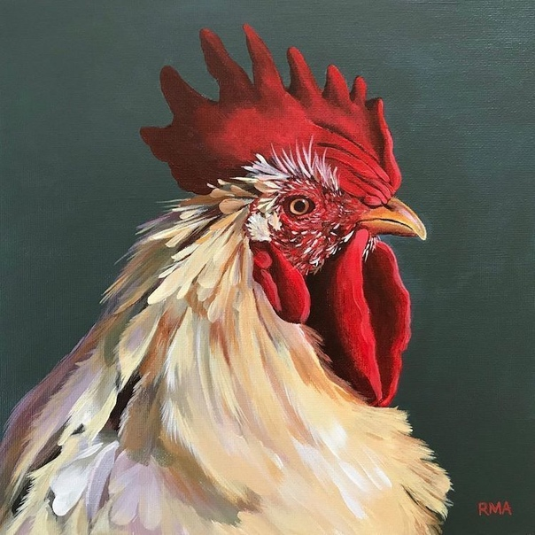 Разнообразие и великолепие птиц вдохновляют множество художников, скульпторов и других представителей искусства на прекрасные произведения Художница Рэйчел Альшулер запечатлевает уникальность и