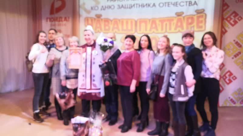 Победитель конкурса Чувашский богатырь Никита Макаров из д Малый Сундырь таванен