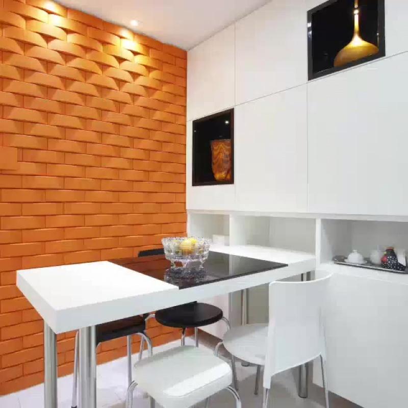 Солнечный дизайн интерьера кухни: фото