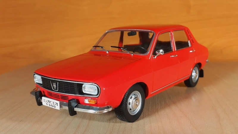 Samochody PRL Dacia 1300 1 24 Hachette