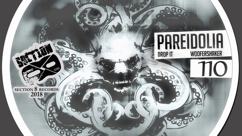 Pareidolia - Drop It / Woofershaker [Section 8 - Drum Bass]