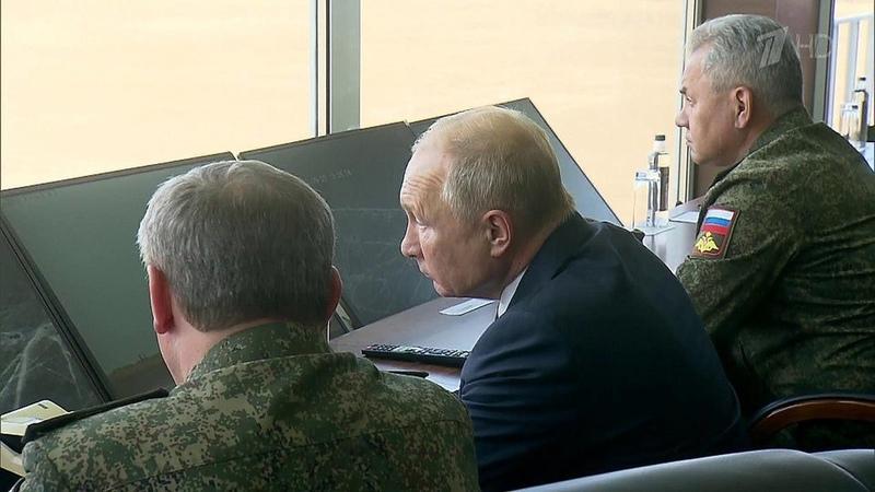 Заглавным днем учений Кавказ 2020 наюге России наблюдал Верховный главнокомандующий Новости Первый канал