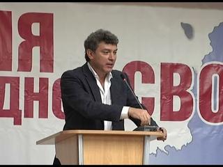"""Немцов о стратегии Навального: """"Голосование за марионеток укрепляет воровской режим!"""""""