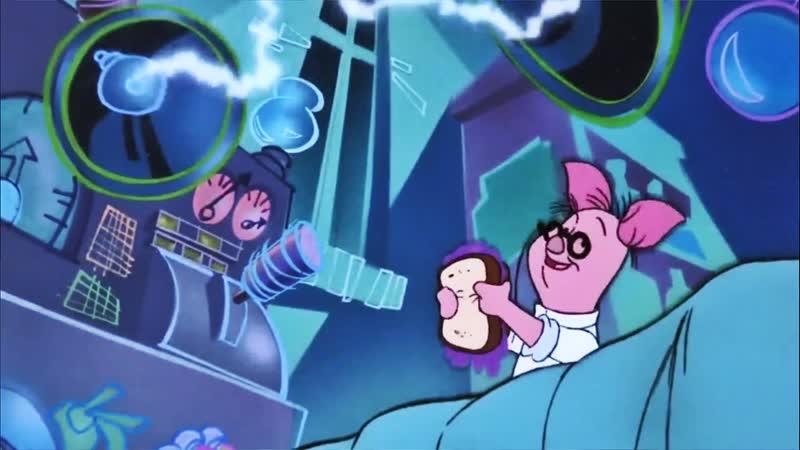 06 Один Кролик в поле не воин Громила Франкен Винни ♥ Приключения Винни Пуха 2 сезон Мультики для детей cartoons