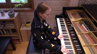Hans Zimmer, Lorne Balfe: Megamind Main Theme (Megamind), Advanced Piano by Anja Goller