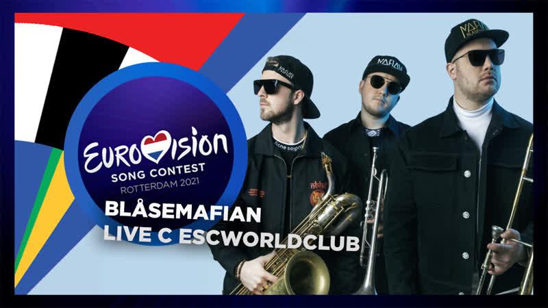 LIVE: Интервью с Blåsemafian Melodi Grand Prix 2021