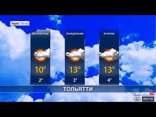 Погода в Самарской области 25– 27 апреля