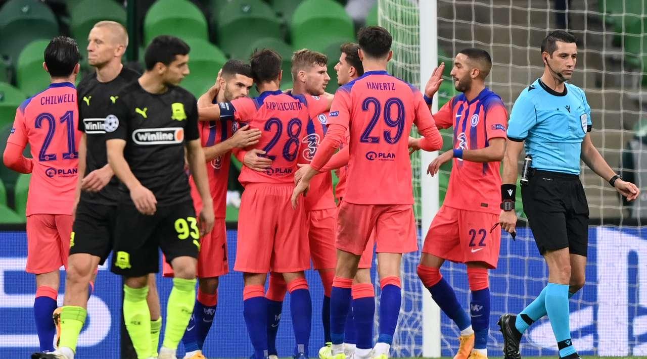 Краснодар - Челси, 0:4. Арбитр Али Палабыйык