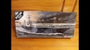 Academy 1 800 USS Kitty Hawk (CV-63) Aircraft Carrier Plastic Model Review