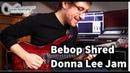 Bebop Shred | Donna Lee Guitar Jam | Seymour Duncan Seth Lover, Neunaber Immerse, Emerson Capacitor