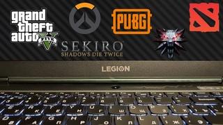 Lenovo Legion 5 • Ryzen 7 4800h • RTX 2060 • 6 games tested