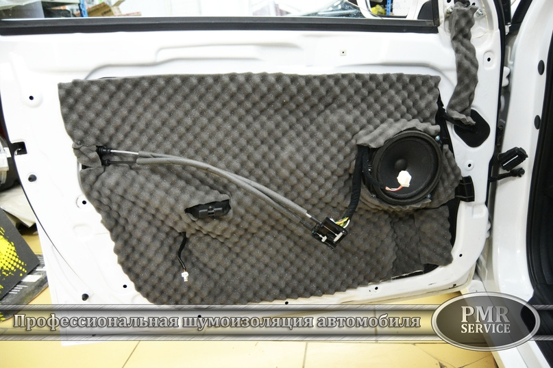 Комплексная шумоизоляция Hyundai Sonata, изображение №13
