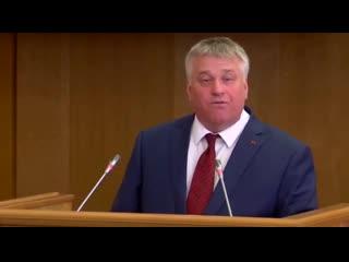 Аромат левобережной вони добавил коммунист Рогатнев в отчет губернатора Гусева