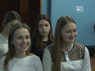 Декада наук в шк.№ 13 им.Р.А.Наумова, интеллектуальная игра