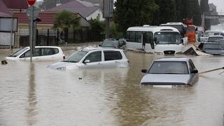 Потоп в Сочи Наводнение 2021 п. Лазаревское. |  Дагомыс, Лазаревское, , Адлер # Наводнение
