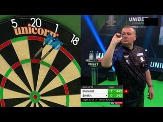 Glen Durrant vs Michael Smith (PDC Premier League Darts 2020 / Week 13)