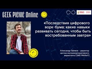 GEEK PICNIC Online x СЗИУ РАНХиГС