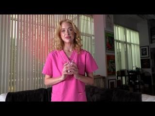 Chloe Cherry - MrPOV - A sperm bank nurse house call ## POV blonde teen uniform blowjob anal sex porn
